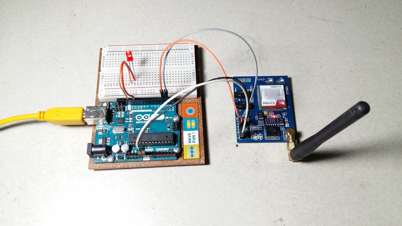 Auto-reply to SMS messages using Arduino and a SIM900 SMS